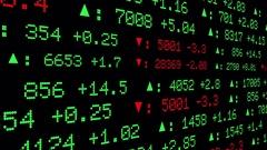 Stock Exchange Display Stock Footage