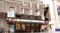 Broadhurst Theater Mamma Mia! Stock Footage