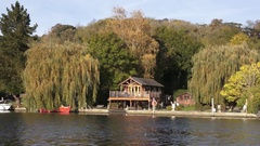 Henley England at Autumn Stock Footage