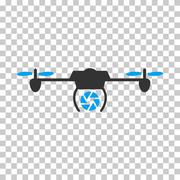 Shutter Spy Airdrone Vector Icon Piirros