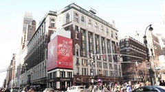Macy's Herald Square 34th and Broadway New York Stock Footage