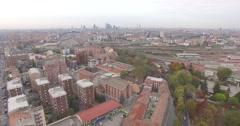 MILAN, Viale Monza - City Skyline, Aerial Footage - Riprese Aeree, 4K Stock Footage
