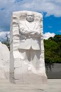 The Martin Luther King Jr. National Memorial in Washington D.C. Stock Photos