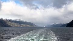 Cruising in Glacier Alley - Patagonia Argentina Stock Footage