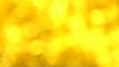 Abstract Defocused Glimmering. Blurred Golden Bokeh. Christmas. New Year Stock Footage