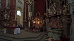 Home Decor Church Stock Footage