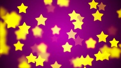 HD Loopable Background with nice flying stars Stock Footage