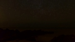 Stars and Sunrise Stock Footage