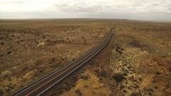 American Southwest Road Aerial 01 Arizona 4K Stock Footage