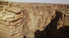 Grand Canyon Aerial 03 Navajo Nation 4K Stock Footage