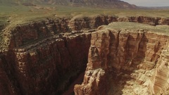 Grand Canyon Aerial 06 Navajo Nation 4K Stock Footage