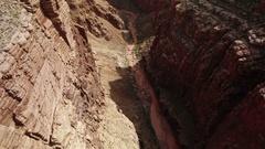 Grand Canyon Aerial 09 Navajo Nation 4K Stock Footage