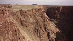 Grand Canyon Aerial 14 Navajo Nation 4K Stock Footage