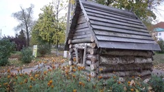 Wooden house from fairy tales 4K Stock Footage