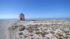 Agios Ioannis on the island of Lefkas Greece Stock Footage