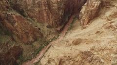 Grand Canyon Aerial 22 Navajo Nation 4K Stock Footage