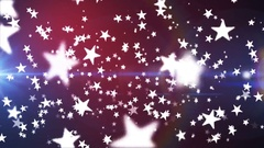 Broadcast Flying Hi-Tech Stars, Multi Color, Events, Loopable, 4K Stock Footage