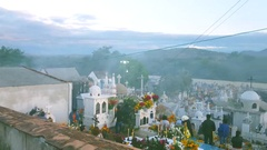 Day of the Dead in Mexico.4K Stock Footage