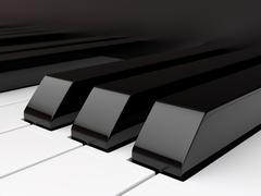 Piano keyboard Piirros