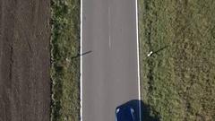 Vertical shot of porsche. Arkistovideo