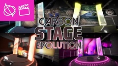 Carbon Stage Evolution - Apple Motion and Final Cut Pro X Template Stock After Effects