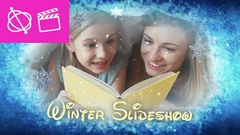 Winter Slideshow - Apple Motion and Final Cut Pro X Template Kuvapankki erikoistehosteet