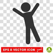 Child Joy Vector Eps Icon Stock Illustration
