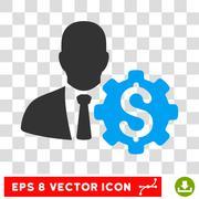 Banker Options Vector Eps Icon Stock Illustration