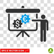 International Banking Project Vector Eps Icon Stock Illustration
