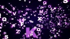 Background Random Numbers Technology Code, Loop, 4k Stock Footage