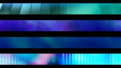Abstract looping alpha embedded lower third group fourteen Stock Footage