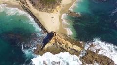 Treasure Island, Laguna Beach, California Stock Footage