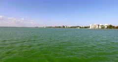4K Panoramic view of Constanta city,sunny day,Romania Stock Footage