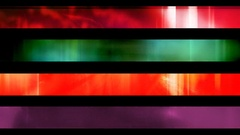 Abstract looping alpha embedded lower third group forty Stock Footage