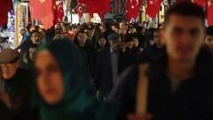 Istanbul Grand Bazaar people Stock Footage