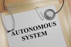 Autonomous System concept Stock Illustration