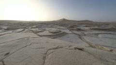 Namibia desert sand dunes sunset time lapse Stock Footage