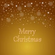 Christmas Card Merry Christmas - illustration Piirros