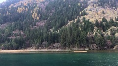 Beautiful landscape at Jiuzhaigou National Park  Stock Footage