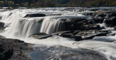 Sandstone Falls on New River Summers County West Virginia Stock Photos