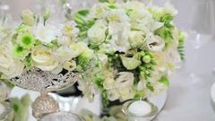 Wedding decorations Stock Footage