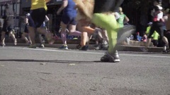 New York City Marathon 2016 Stock Footage