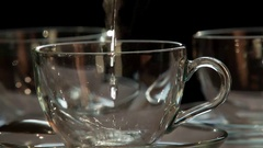 Boiling Water for Tea HD Pro Stock Footage