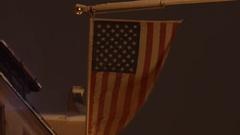 USA American Flag 4K UHD Stock Footage
