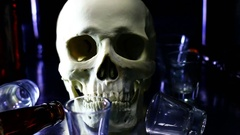 Drink to death Stock Footage