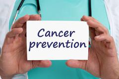 Cancer prevention screening check-up disease ill illness healthy health docto Stock Photos