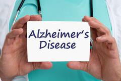 Alzheimers disease Alzheimer Alzheimer's ill illness healthy health doctor Stock Photos