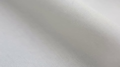 White Cotton Fabric Texture. It can be used as a background Stock Footage