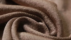 Draped Lurex Fabric. Fabric Texture. It can be used as a background Stock Footage