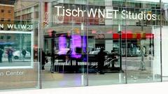 WNET Studios Broadway Manhattan Stock Footage